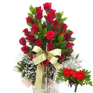꽃행복(코사지1개무료증정)