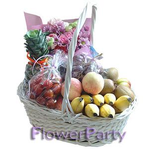 축하용~♥과일꽃바구니